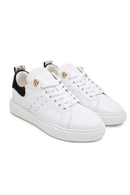 Nubikk rox calf white leather