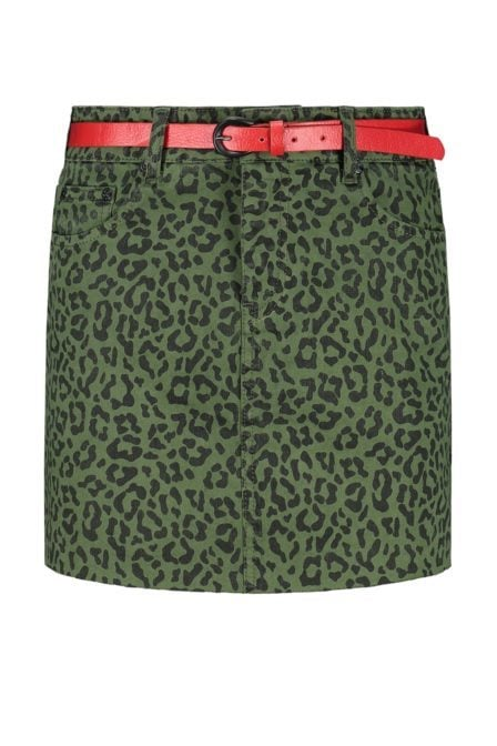 Nikkie birdy leopart skirt