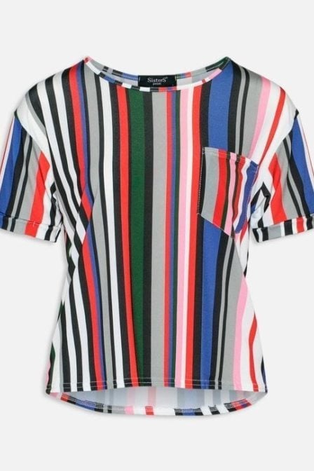 Sisters point numb-12 t-shirt multistripe