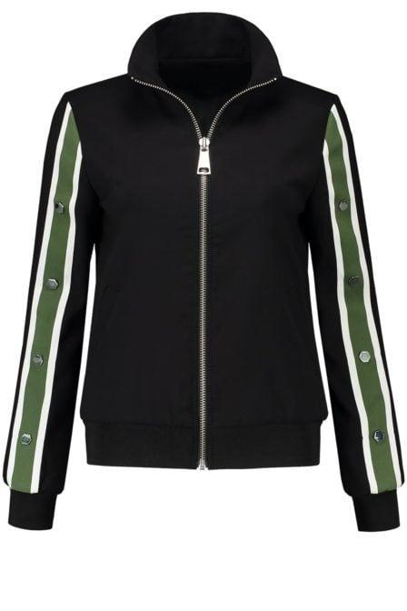 Nikkie luz track jacket black