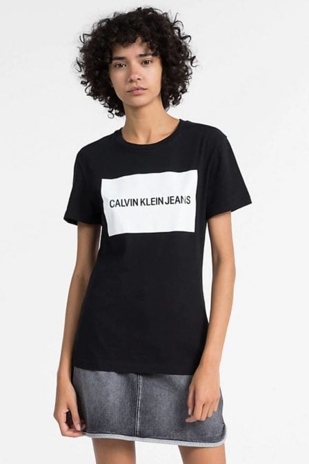 Calvin klein t-shirt met logo black