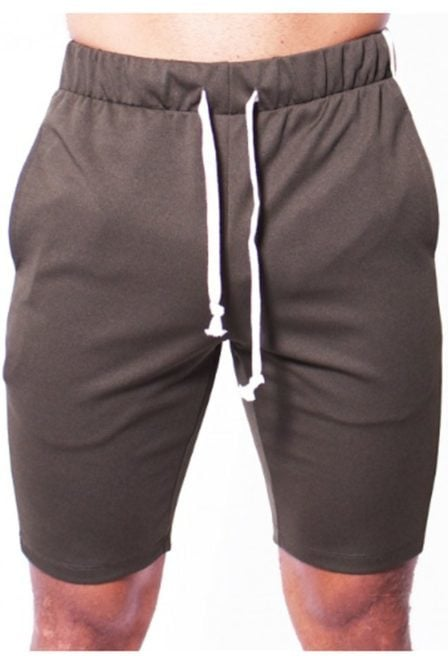 Radical track short army green