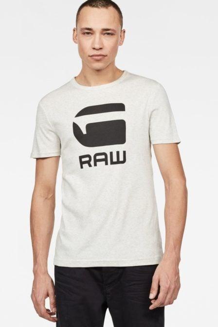 G-star raw drillon t-shirt off white