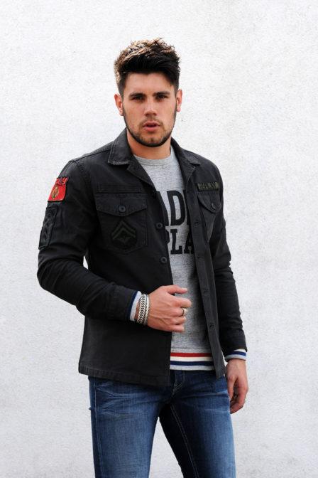 Replay jacket 998 grey