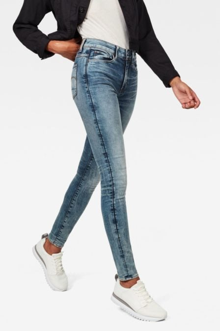 G-star raw 3301 deconstructed high waist skinny jeans