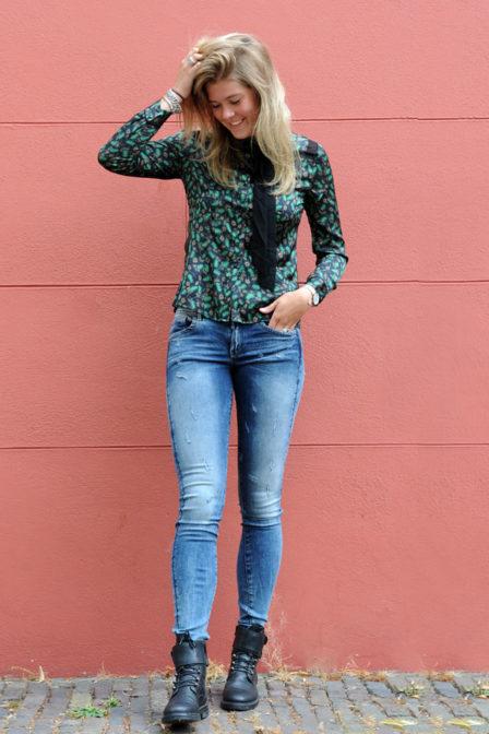Aaiko linou blouse