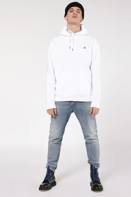 Diesel s-after sweatshirt white