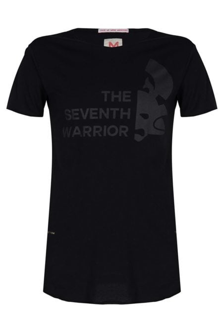 Once we were warriors menshi ss tee black
