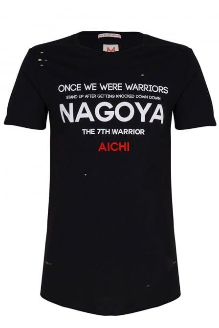 Once we were warriors nagoya ss tee black