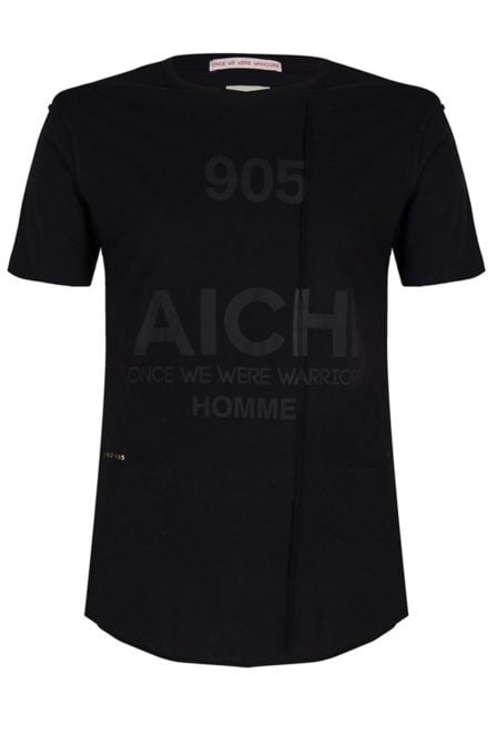 Once we were warriors aichi ss tee dust black