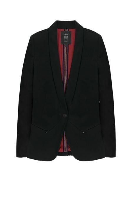 10 feet comfortabele blazer zwart
