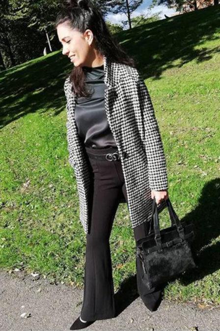 Aaiko trouser sasa black