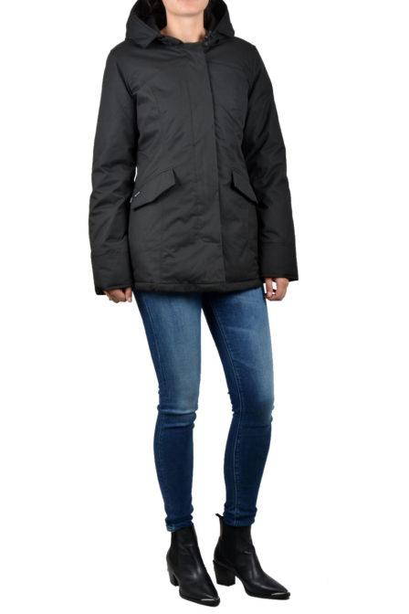 Airforce 2-pocket herringbone jacket true black