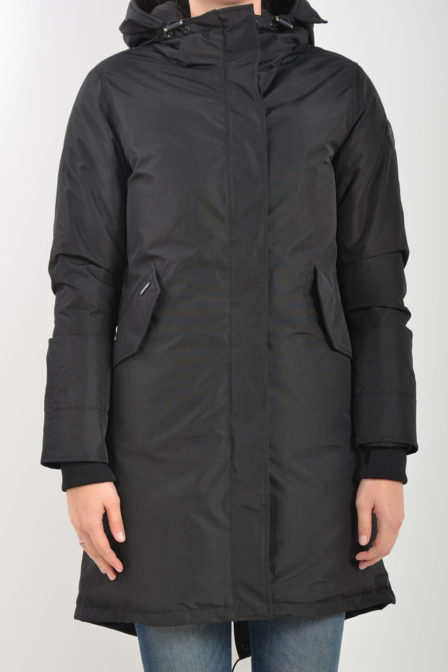 Airforce fishtail functional parka donker blauw