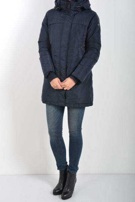 Airforce tailor made parka metal donker blauw