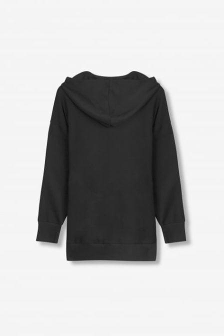Alix the label sequin hoodie black