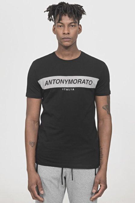 Antony morato logo shirt zwart