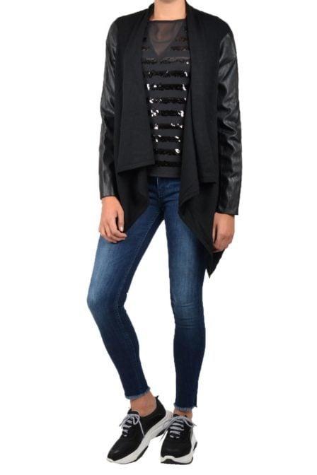 Armani woman knitwear cardigan black