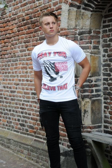 Believe that 3000 t-shirt white