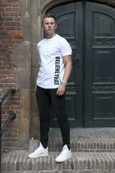 Believe that probz t-shirt white
