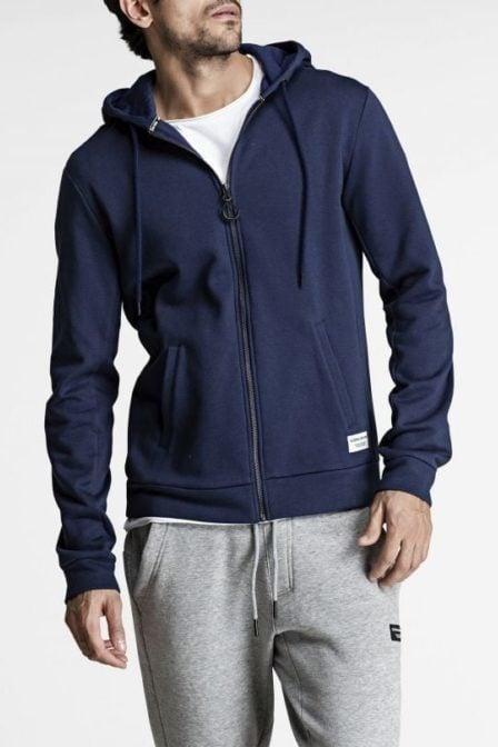 Bjorn borg centre hoodie jacket navy