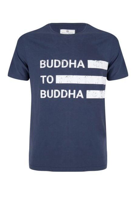 Buddha to buddha robert t-shirt navy