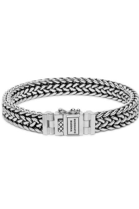 Buddha to buddha julius armband zilver