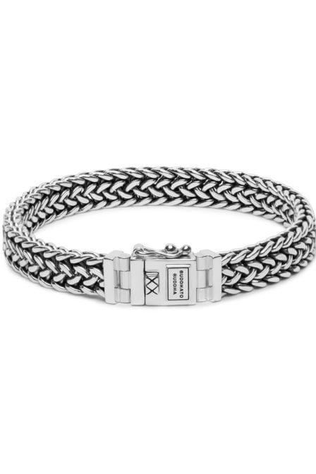 Buddha to buddha julius small armband zilver