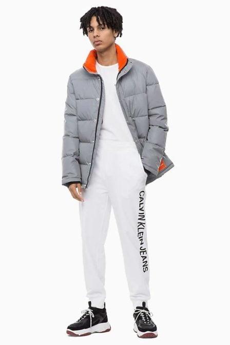 Calvin klein institutional shirt ls bright white