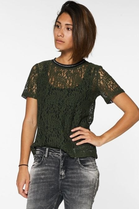 Circle of trust rox tee military green