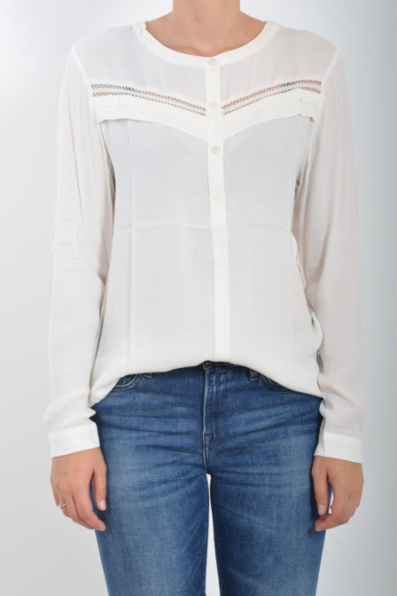 Circle of trust tammy blouse star white