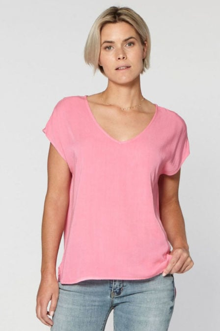 Circle of trust dena top pink please