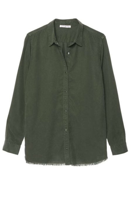 Circle of trust juny blouse dark army