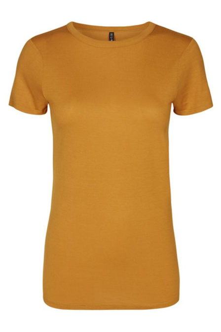 Desires verona 2 t-shirt cognac