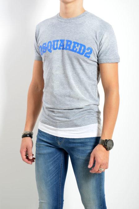 Dsquared2 t-shirt grijs