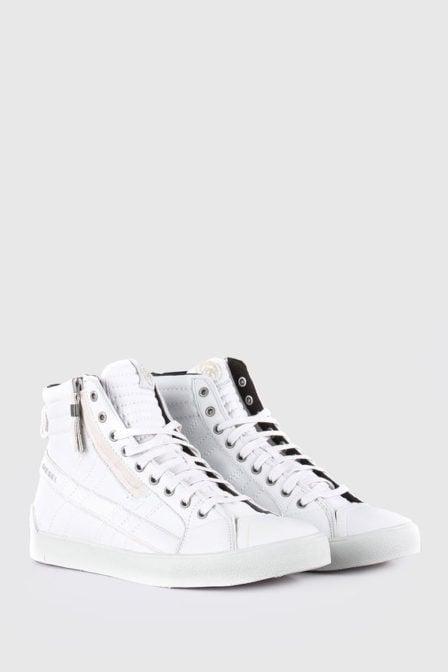 Diesel d-string plus sneakers wit