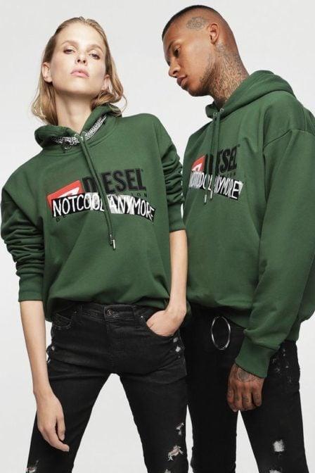 Diesel hc-s-division-b sweatshirt green