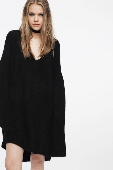 Diesel m-softy dress black