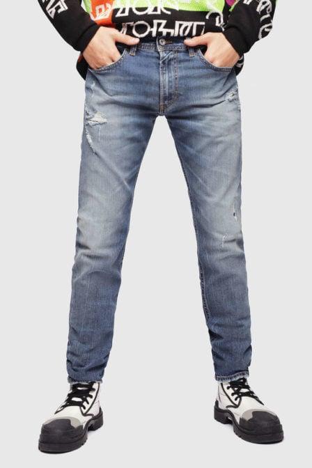 Diesel thommer 069dz jeans medium blauw