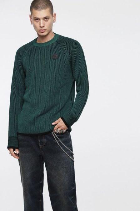 Diesel k-blend pullover green
