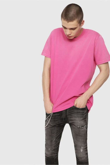 Diesel t-shin t-shirt roze