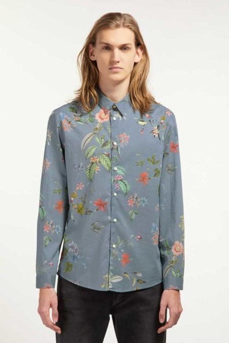 Drykorn ruben overhemd blauw