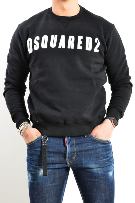 Dsquared sweater zwart