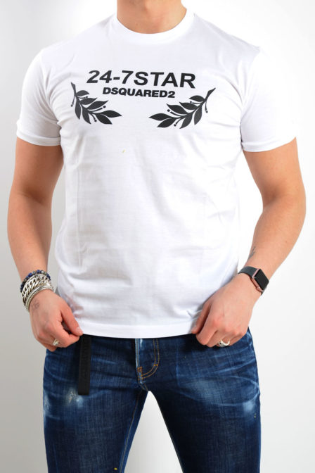 Dsquared t-shirt wit