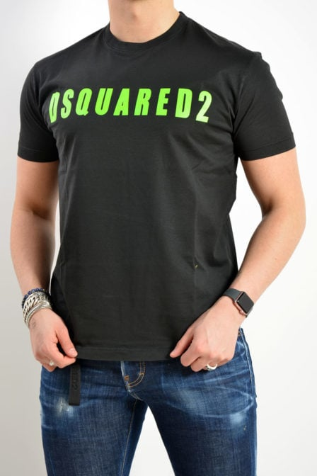 Dsquared t-shirt zwart logo