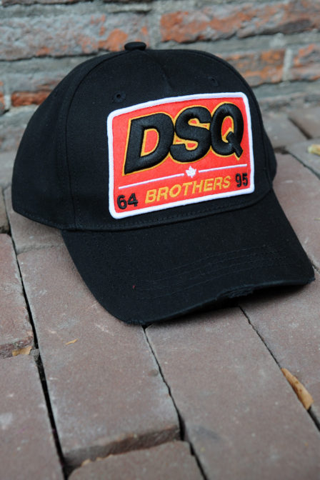 Dsquared2 baseball nero cap