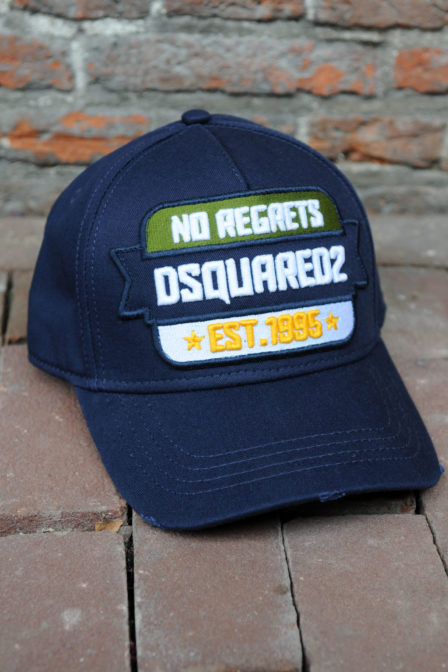 Dsquared2 cargo baseball garbadine navy cap