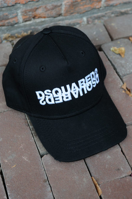 Dsquared2 other cargo baseball nero cap