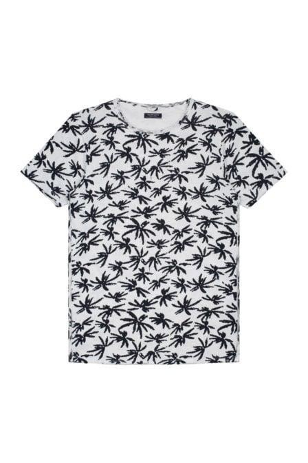Dstrezzed crew palm single jersey shirt