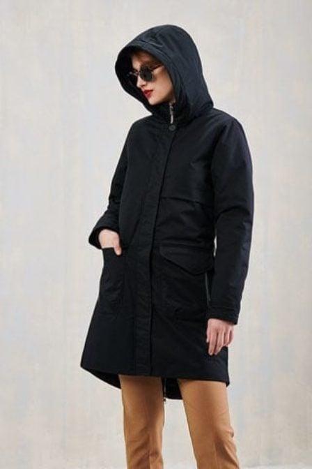 Elvine monica coated dark navy